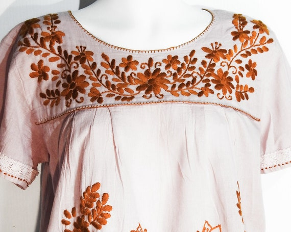 Summer style peasant blouse