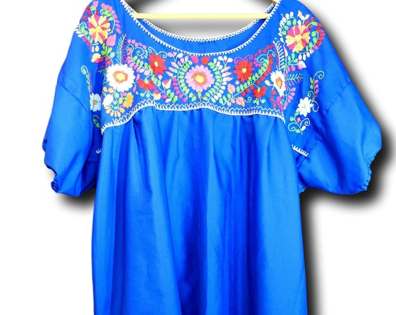 Plus size Mexico blouse