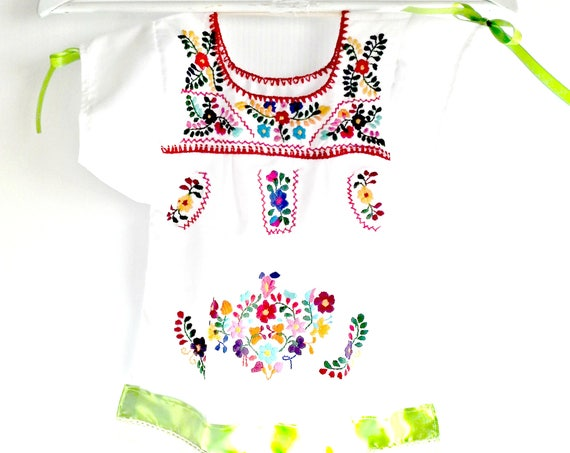 Mexican pride baby dress 6 months
