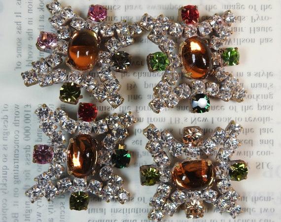 Stylish Czech crystal buttons