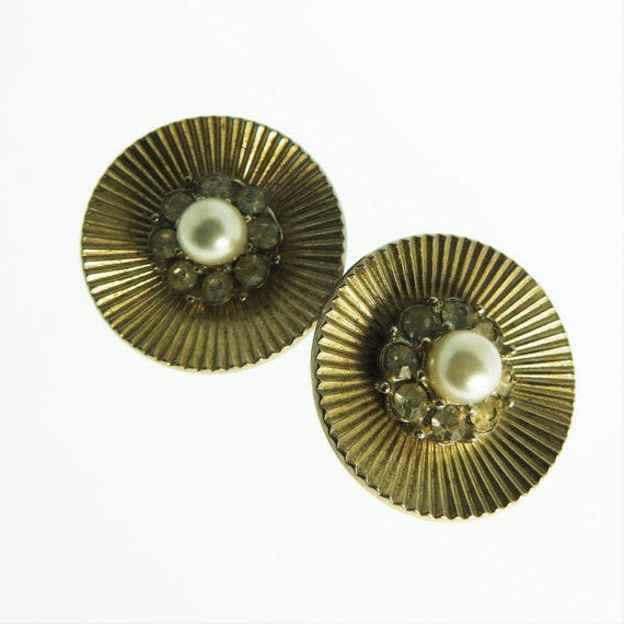 Coro clip on earrings
