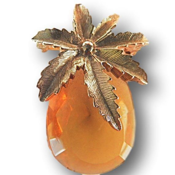 Mini pineapple broach