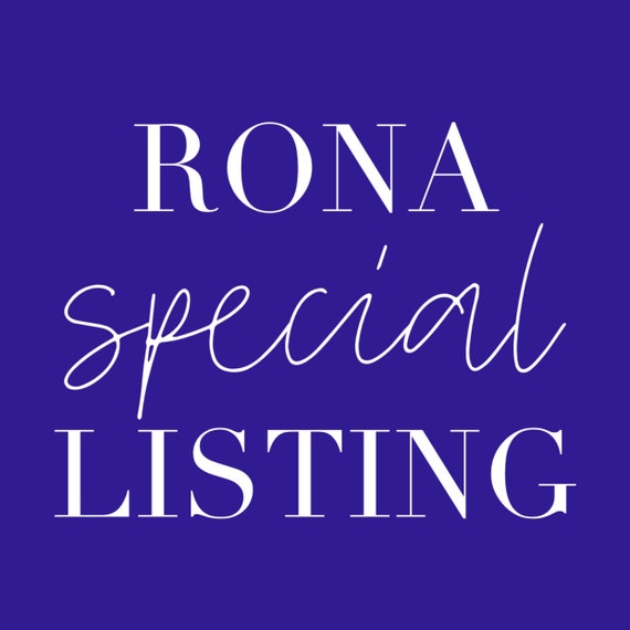 Special listing for Rona,  Account adjustement / Covid