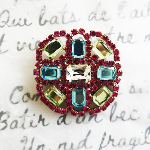 Large statement brooches