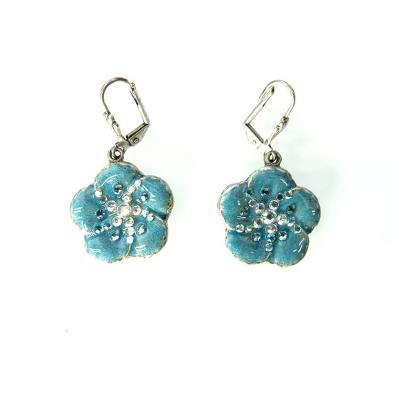 Cute women earrings floral earrings floral design