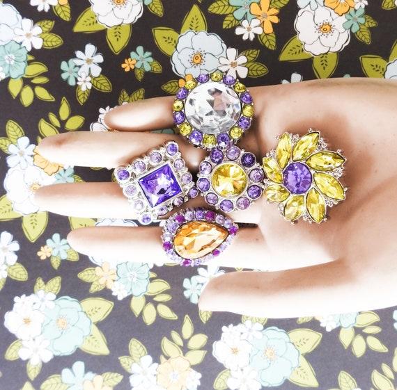 Mauve buttons embellishments