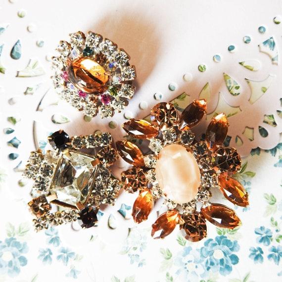 Bohemian glass buttons