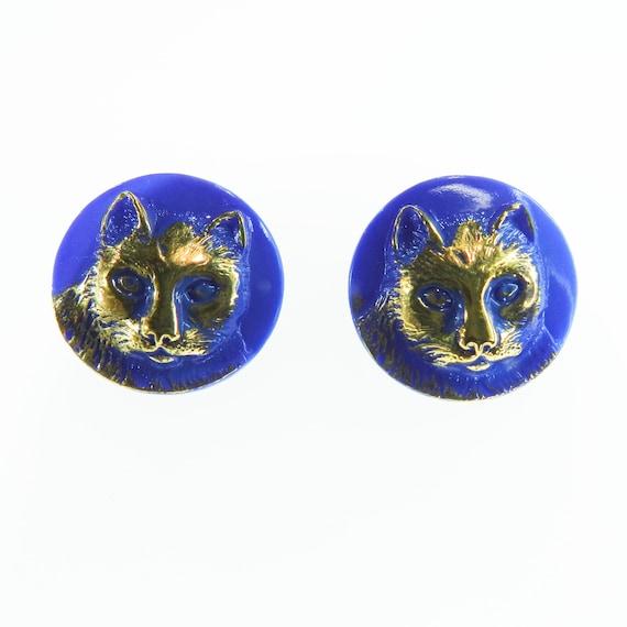Blue Cat buttons