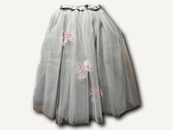 Sequined adult tutu skirt for women