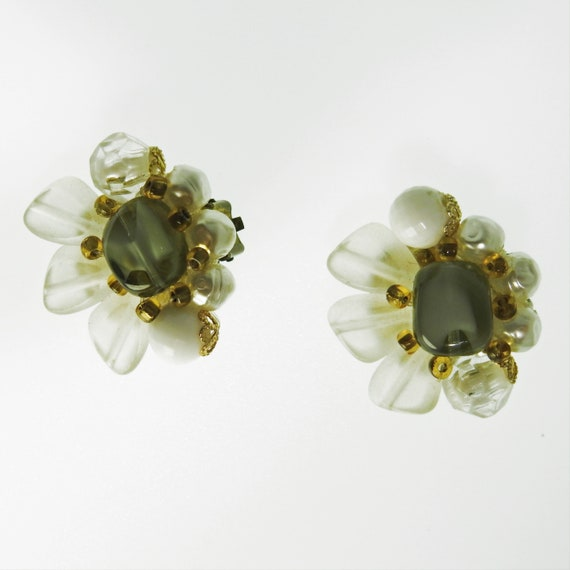 CLIP ON EARRINGS vintage for non pierced ears