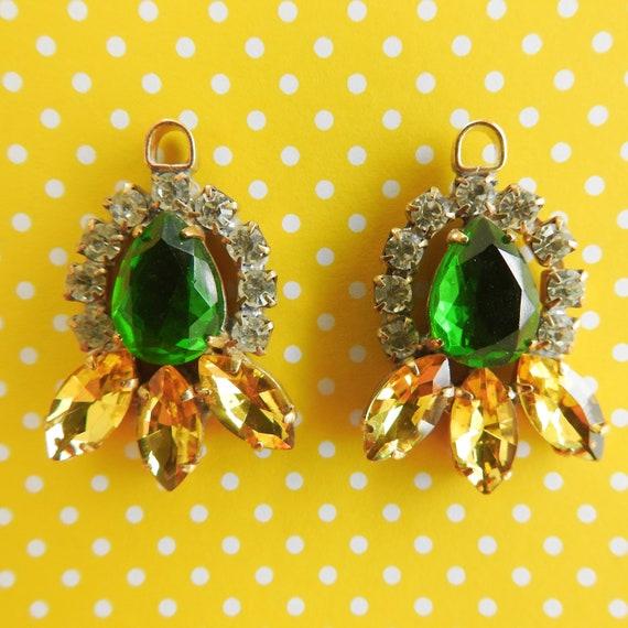 Rhinestone charms for jewelry making