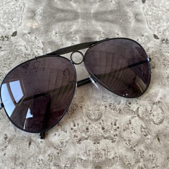 Vintage POLO Aviator Sunglasses / 1980s Ralph Lau… - image 3