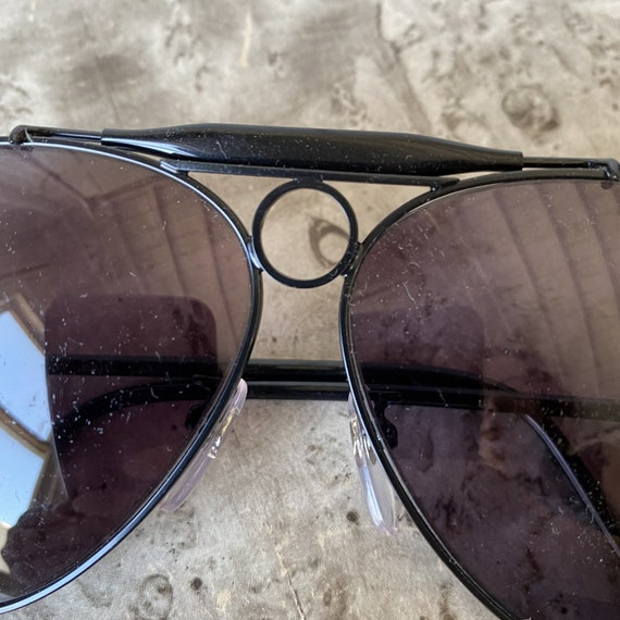 Vintage POLO Aviator Sunglasses / 1980s Ralph Lau… - image 6