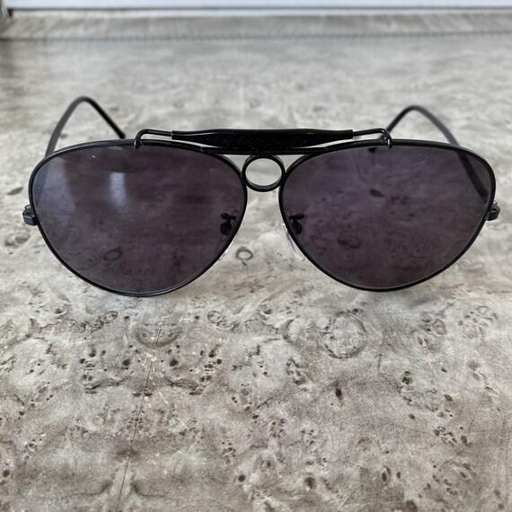 Vintage POLO Aviator Sunglasses / 1980s Ralph Lau… - image 2