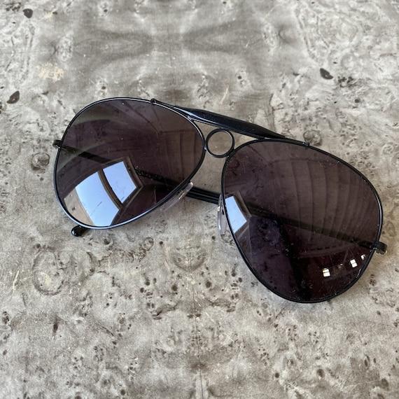 Vintage POLO Aviator Sunglasses / 1980s Ralph Lau… - image 5