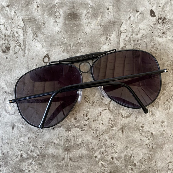 Vintage POLO Aviator Sunglasses / 1980s Ralph Lau… - image 7