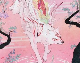 "Okami Shiranui • Amaterasu 5x7"" Print"