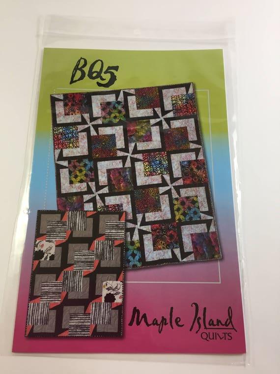 Bq5 Pattern Maple Island Quilts Fast Fun Quilt Pattern Etsy