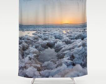 gordijn sunrise gordijn zonsondergang gordijn dode zee gordijn natuur gordijn landschap gordijn sea view douchegordijn 60 x 72 inch inch 71 x 74 66 x 72