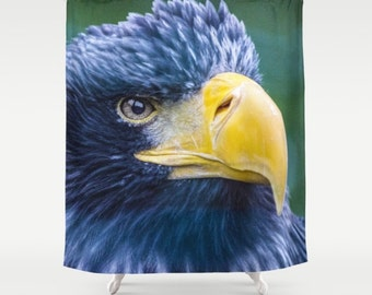 Eagle Shower Curtain Photo Bird Art Decor Home Bath Bathroom Of Pray 71x74 Incl