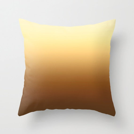 Solid Desert Throw Pillows Modern Minimalist Sunset Decor Etsy