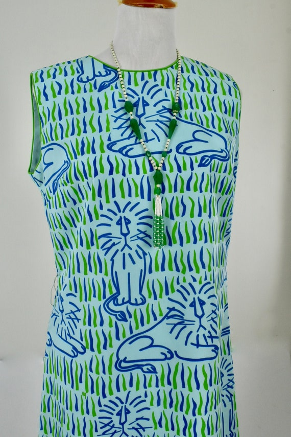 1960/70s VESTED GENTRESS  Maxi Dress with Friendly