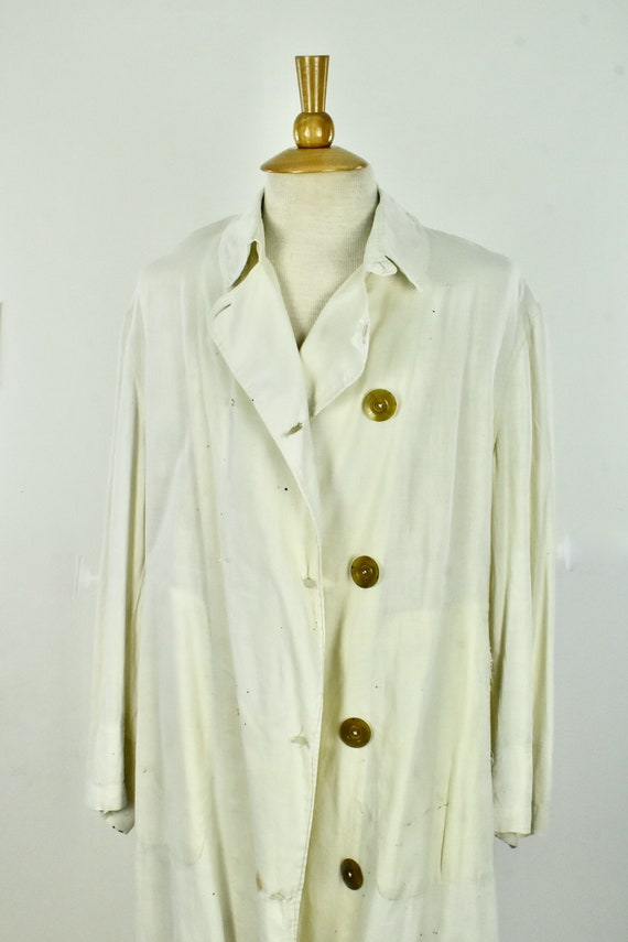 Authentic Mens Edwardian  Linen Duster Coat.......