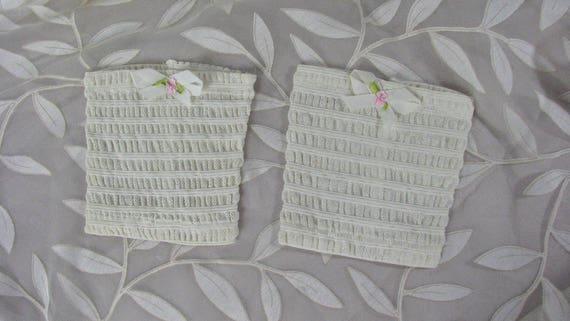 Pair of Authentic Edwardian Women's Garters   RARE