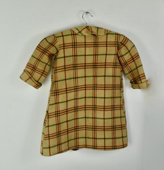 1930/40s CHILD'S  Plaid Blanket Robe - image 4