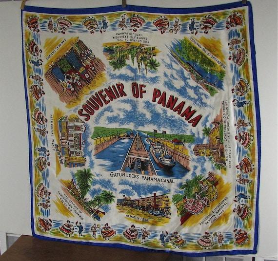 Souvenir Scarf of Panama