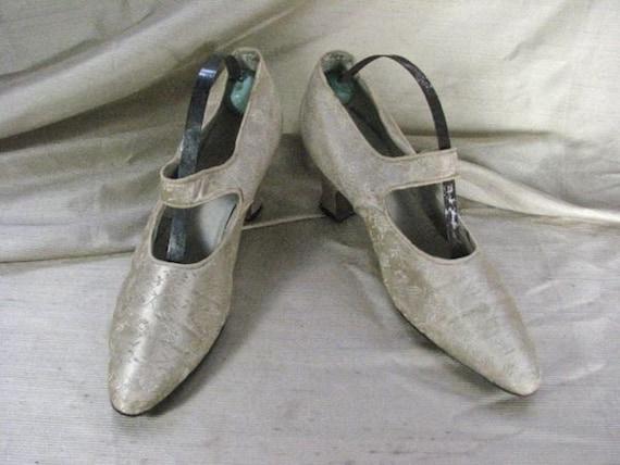 Edwardian Wedding Shoes.........size 5