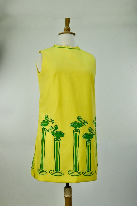 1960/70s VESTED GENTRESS  Tunic / Cover Up / Top