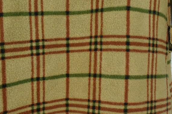 1930/40s CHILD'S  Plaid Blanket Robe - image 5