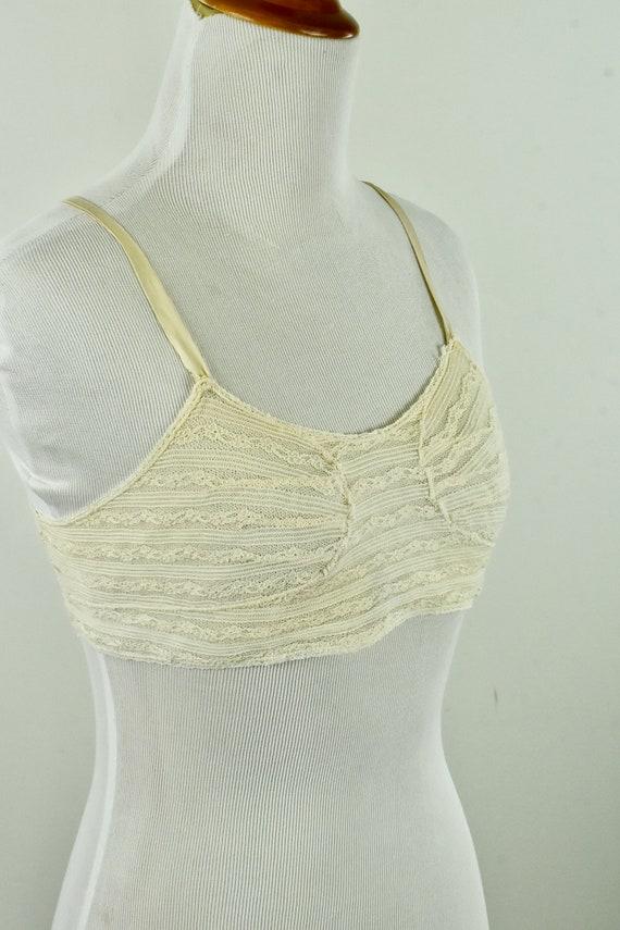 1920s Lace Brassiere....... size XS