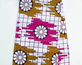 Ankara fabric by the yard/ African Fabric/ African print/ Ankara print/ African wax Print/ white Cotton Print/ WP1055B