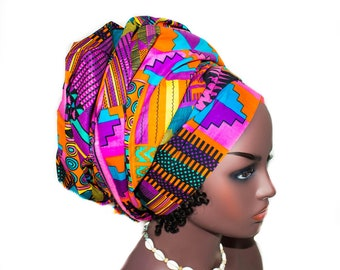 African  head wraps/ Africa fabric HT279
