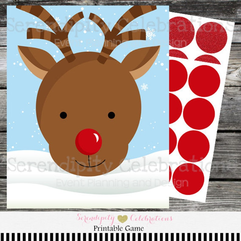 photo relating to Pin the Nose on the Reindeer Printable named Quick Down load Pin the Nose upon the Reindeer Match, Young children Xmas Video game, Xmas celebration activity, Printable Sport, Holiday vacation Video game, Xmas Activity