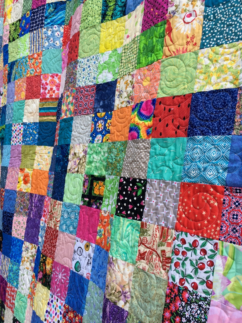 Full Double Size Patchwork Quilts Quilt  Traditional Quilts image 0