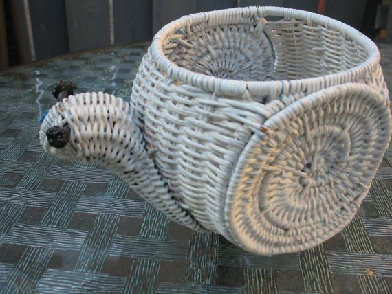 Gardener. rattan gardener Planter,Cache pot ColiMason in white rattan