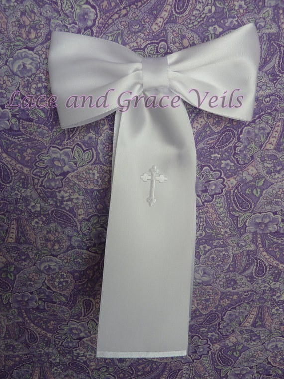 First Communion Arm Band With Cross Etsy