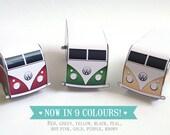 Printable Camper Van Place Cards, Camper Wedding, Birthday, Camper Van Favour Boxes, instant download
