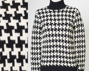 Black white sweater  5633e3965