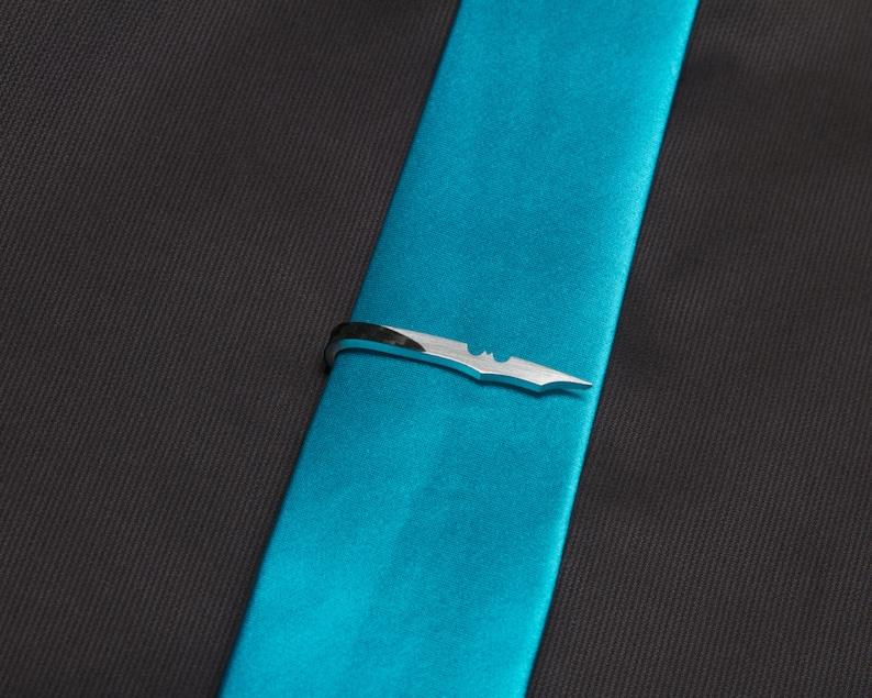 Bat Skinny Tie Clip image 0