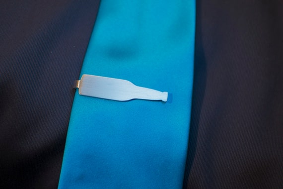 Beer Bottle Tie Clip