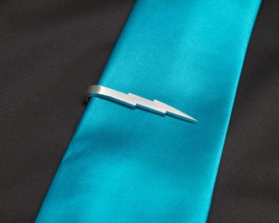 Lightning Bolt Tie Clip