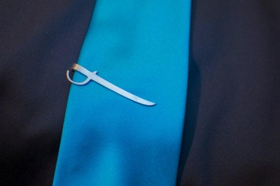Cutlass Tie Clip