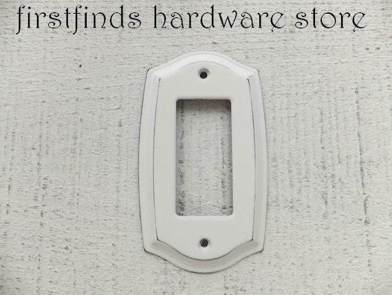 light switch plate outlet plug cover gfi electrical shabby