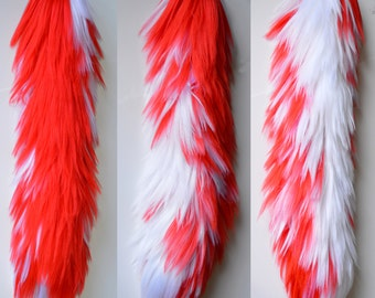f71ef1552 Red and White Yarn Tail - Clearance