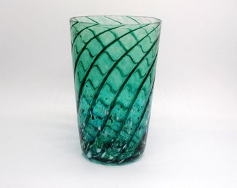 Malachite Melody Glass