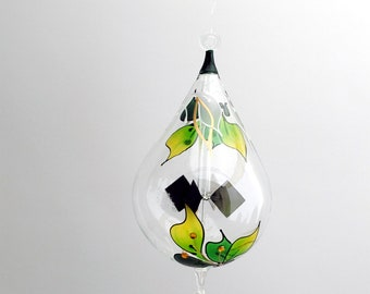 Hanging Radiometer Orchid painted